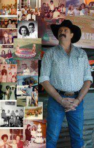 Steve Spur Dallas Psychic Medium in black cowboy hat