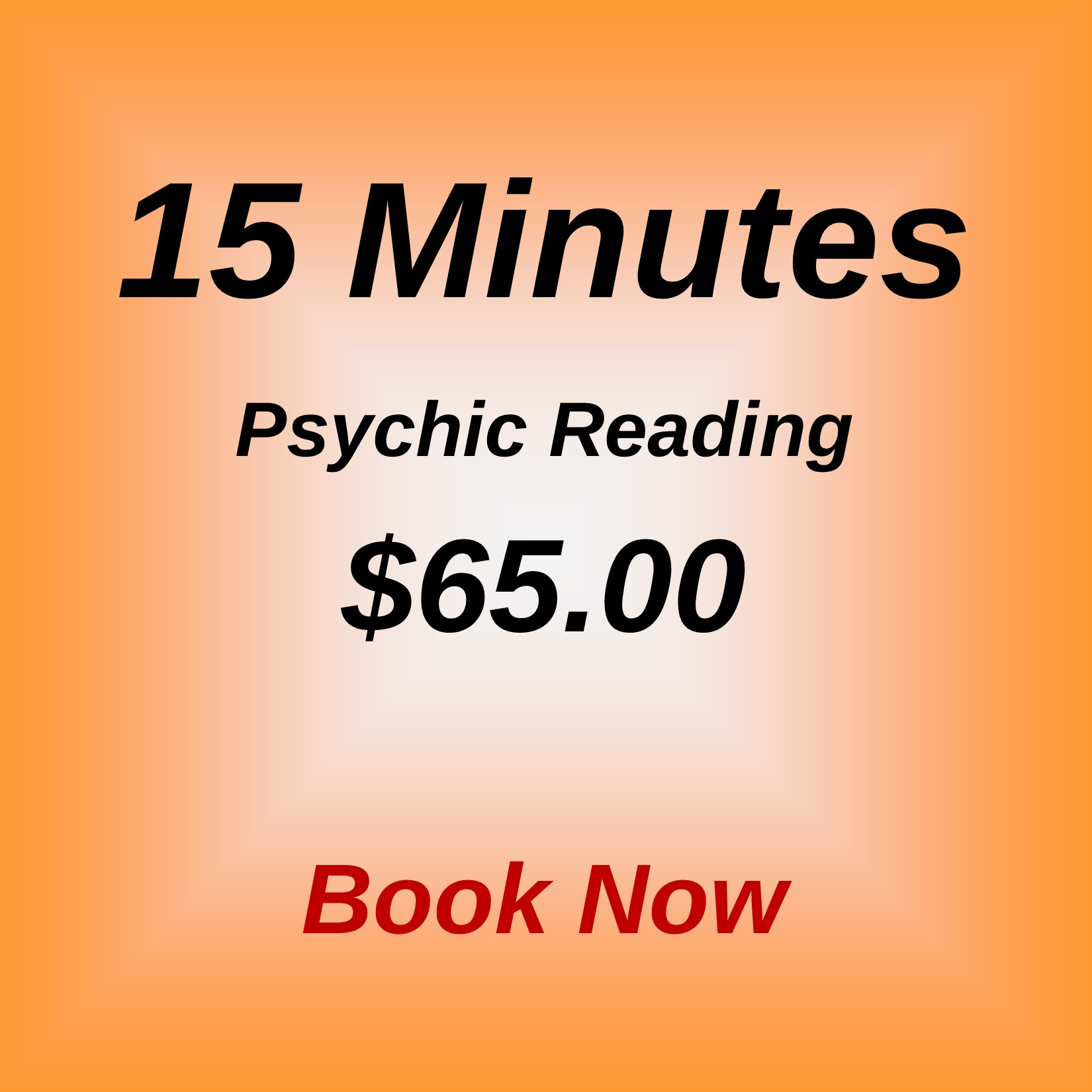 15 minute mini psychic reading