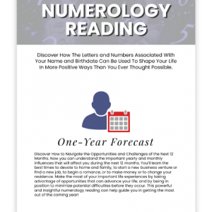 Numerology One-Year Forecast