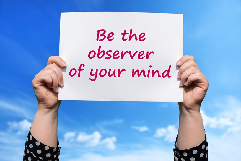 Be the observer of your mind cynthia becker psychic self talk